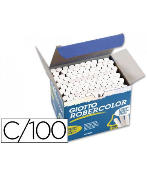 Giz robercolor branco - caixa 100 unidades.