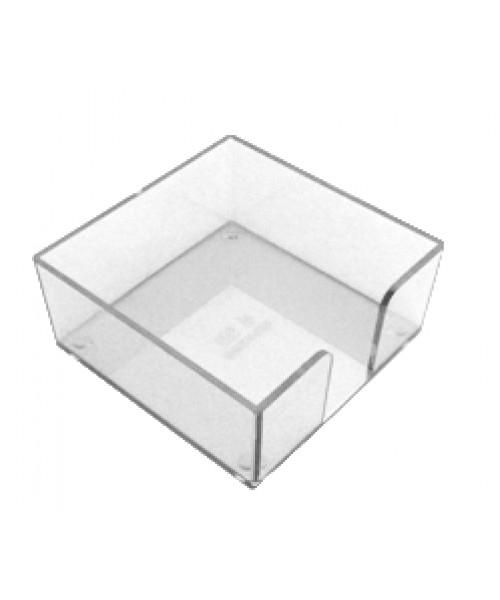 Base acrílica  de bloco cubo 110x110