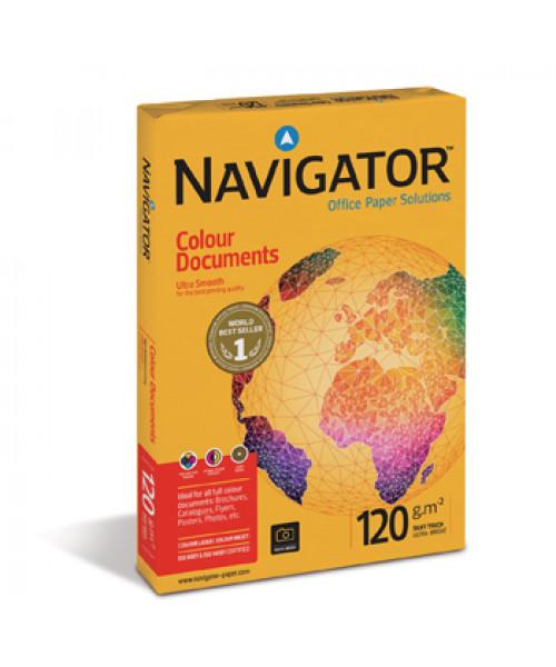 Papel Fotocópia A4 Navigator,120 gr  250fl