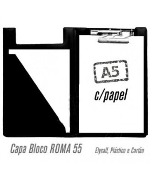 Pasta C/ Mola Triplex A5 c/bloco incl.