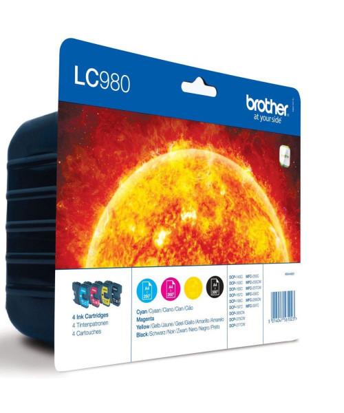 Tinteiro Brother LC 980 pack