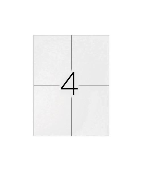 Etiquetas adesivas q-connect din a4 105 x 148,5