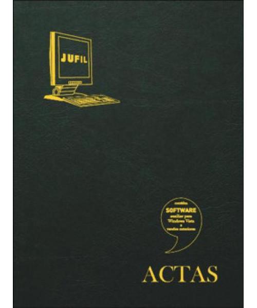 Livro Atas/Actas  Jufil