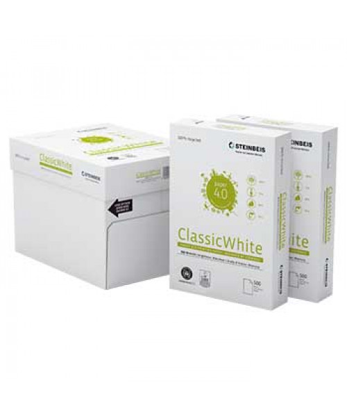 papel fotocopia A4 reciclado caixa