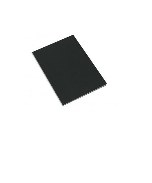 Caderno A4 capa preta