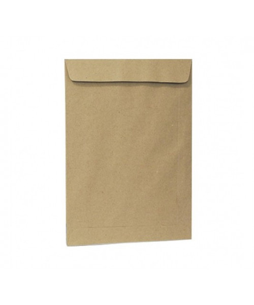 Envelope autocolante  kraft 162 x 229