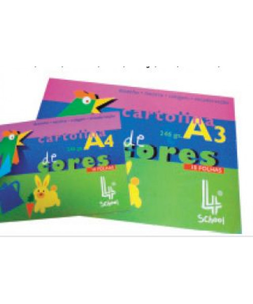 Bloco cartolina A3