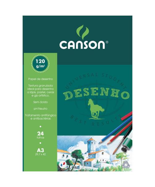 Bloco  desenho A3 Canson