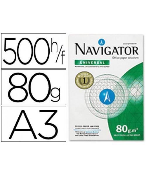 Papel Fotocópia A3  Navigator, Branco,  80 G/M ²(resma)