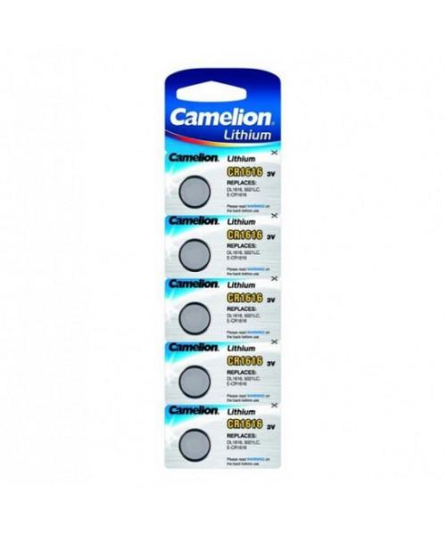 Pilhas CR 1616 Camellion